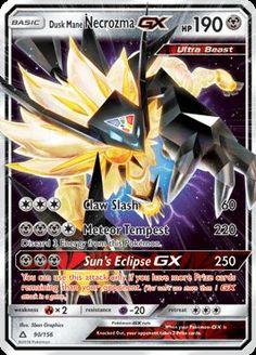 Dusk Mane Necrozma GX - SM - Ultra Prism, Pokemon - Online Gaming Store for Cards, Miniatures, Singles, Packs & Booster Boxes Pokemon Go, Fake Pokemon Cards, Pokemon Cards Legendary, Pokemon Tcg Cards, Pokemon Trading Card, Trading Cards, Pikachu, Pokemon Eeveelutions, Charizard