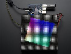 Adafruit RGB Matrix Hat RTC for Raspberry Pi - Mini Kit for sale online Diy Electronics, Electronics Projects, Claves Wifi, The Matrix, Real Time Clock, Gadgets, Raspberry Pi Projects, Video Wall, Pixel Art