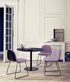 Oh my. Gubi chair. New favourite and its lilac to boot!