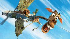 "From ""The Art of Madagascar 3"" - Melman get saved.  Artist/Animator: Goro Fujit."