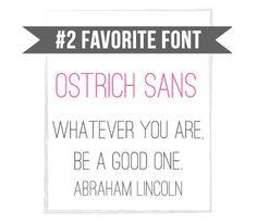 Ostrich Sans – Clean Upright Font – Free