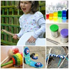 Fancy having a go at making your own Musical Instrument Crafts for kids? Here you have percussion to horn to string instruments to choose from.