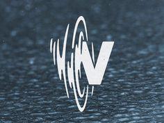 Creative Logo, Design, Whata, David, and Gonzalez image ideas & inspiration on Designspiration Dj Logo, Logo Type, Typography Logo, Logo Branding, Water Branding, Design Typography, Lettering, Logo Inspiration, Gfx Design