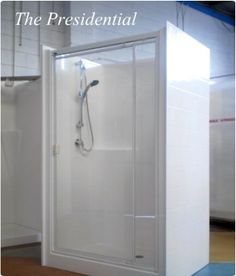 fully enclosed shower | tiny bathroom | Pinterest | Shower ...