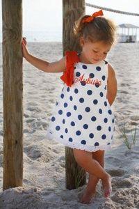 Auburn Girls Dress Sizes 1, 2, 3, 4. $30.00, via Etsy.
