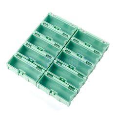 5pcs SMT SMD Kit Lab chip Components Screw Storage Box Case AA2771X5