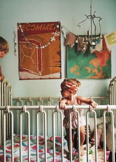 Wegdromen bij de mooiste Bohemian kinderkamers