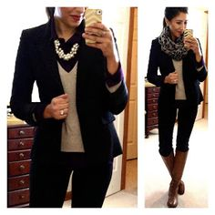 Great clothing ideas on this blog...especially for work.