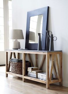 Bluestone Console Table - Crate & Barrel