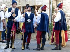 a mediaval feast in Corciano #Umbria