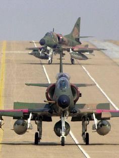 A-4 Skyhawks getting ready! #aviationcraft
