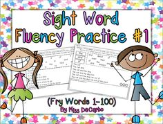 A Teeny Tiny Teacher: Sight Words