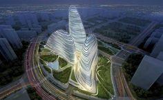 Zaha Hadid Building in China #Hadid #Zaha Pinned by www.modlar.com