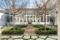 Traditional Neutral Courtyard with Great Room Access
