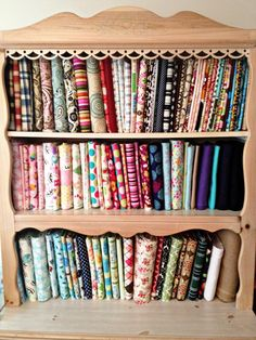 Mr. & Mrs. Hunt: How to properly store your fabric stash