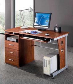 Computer Desk with Storage - #Office #desk - http://www.eezeeshopping.com