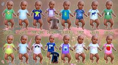 Sims 4 Custom Content Finds — lavieensims: Oh, baby! I wanted to make a...
