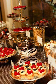 Dessert bar. Yes, please.