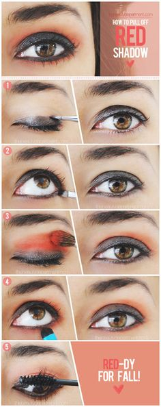 How to pull off red shadow