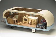DIY Tiny Trailer dollhouse