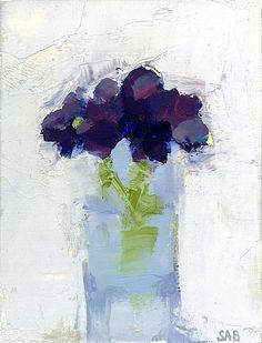 ❀ Blooming Brushwork ❀ garden and still life flower paintings - Stanley Bielen