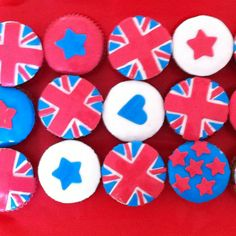 British cupcakes by party design roma