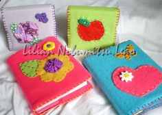 Felt Crafts | Flickr - Photo Sharing! Book covers