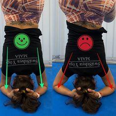 A invertida sobre a cabeça é um dos grandes objectivos de qualquer praticante de Yôga. O segredo, como em tudo na vida, está na base. Um… Yoga, Base, Everything, Tips