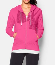 Women's Under Armour Favorite French Terry Full-Zip. Relaxed fit, big pockets and soft fleece lining. It's the layering piece you've been missing. So comfy and cozy it will quickly become a favorite. Add it to your wish list now.