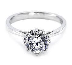 Beautiful solitare diamond