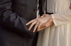 I'm so in love with Alyssa Campanella's engagement ring! (Designed by her lovely fiancé, Torrance Coombs.)