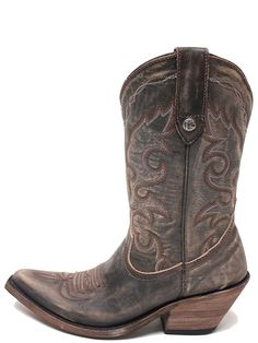 LIBERTY BLACK Vintage Canela Cowgirl Boots LB-711219A >>> Check this awesome product by going to the link at the image.