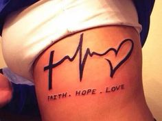 Rib cage tattoo idea