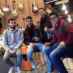 #CafeDas18 com a galera!!! #ClubeGaragem