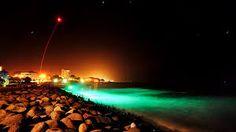 New Plymouth at night