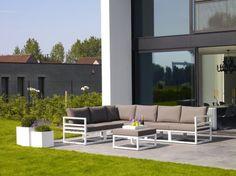 Life Fabri Loungeset Wit - strak design loungeset!