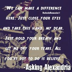 Asking Alexandria lyrics