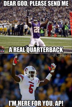 Still more to come on Teddy Bridgewater, but this was too good from NFL Memes not to share.