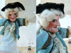 Marquis french Guignol puppet