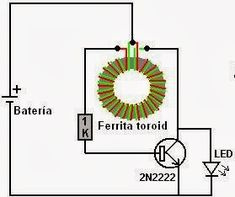 Make a Joule Thief Coil Without a Ferrite Toroid Joule