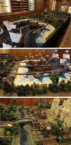 Ceci est un magnifique diorama - Le Blog de Donald87