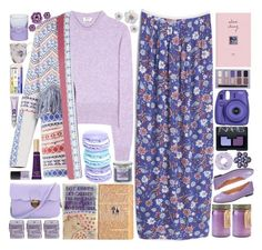 """""""Lavender"""" by doga1 ❤ liked on Polyvore featuring MANGO, Acne Studios, Paddywax, BCBGMAXAZRIA, Stila, River Island, French Sole FS/NY, Too Faced Cosmetics, NARS Cosmetics and Urban Decay"""