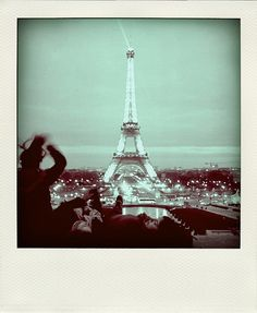 Paris in a Polaroid. The perfect picture.
