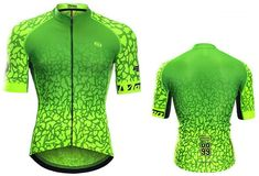 fluorescent cycling jersey