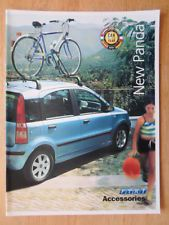 FIAT PANDA orig 2004 UK Mkt Accessories brochure