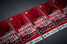 Toronto FC 2015 Season Ticket Package on Behance Toronto Fc, Ticket Design, Football Ticket, Brand Guide, Sports Marketing, Print Design, Graphic Design, Football Design, Season Ticket