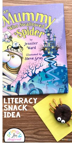 Literacy Snack Idea Mummy - Primary Playground