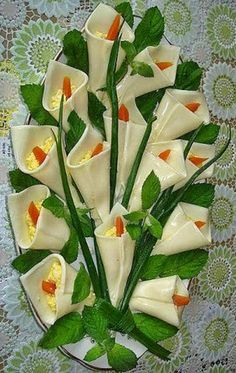Edible Bouquets Saving Tips Food Decoration Food Presentation Easter Recipes Easy Cooking Creative Food Pastel Food Art Appetizers For Party, Appetizer Recipes, Dessert Recipes, Dessert Food, Party Snacks, Easy Cooking, Healthy Cooking, Cooking Tips, Food Tips