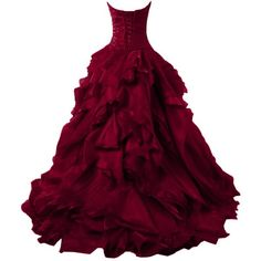 Sunvary Luxurious Burgundy Ball Gown Quinceanera Dresses for Prom with... ($256) ❤ liked on Polyvore featuring dresses, gowns, long dress, purple gown, purple evening gown, purple dress, quinceanera dresses and long dresses