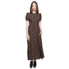 Floral Hooded Dress by Alexa Chung